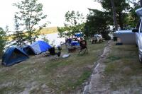 <h2>34. Family lakeside camping