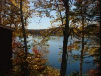 <h2>23. Lake view from cabin area